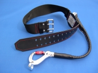 Fire-brigade safety belt