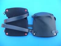 Arbeitsschutz-Knieschoner, 20 mm dick, 2 Schnallriemen